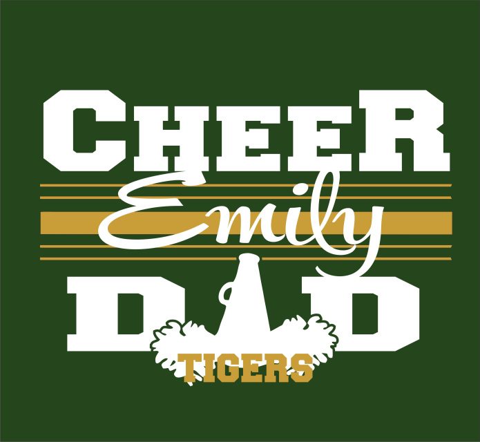81c26189722a Conway Cheer Dad Tee Shirt